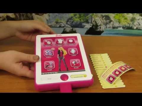 Barbie - My B-Book Organizer - Pad Tablet Ipad Conecta and Mp3 - Mattel (Intek)