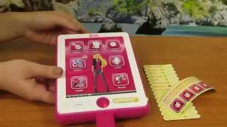 Barbie - My B-Book Organizer - Pad Tablet Ipad Conecta and Mp3 - Mattel (Intek)