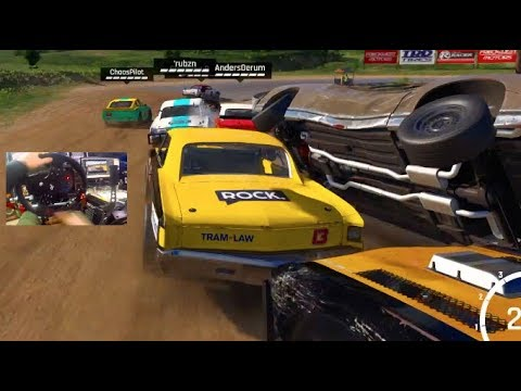 NO Rules/NO Mercy WreckFest GoPro Online - I WILL TAKE YOU OUT!!