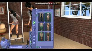 lets play the sims 2 Free time part 1