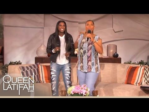 Rutina Wesley Sings Karoake on The Queen Latifah