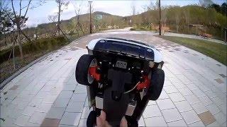 160413 Tamiya MF-01X Suzuki Jimny Test Drive 1