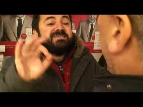 Piero Ricca Contro il Berlusconiano Vespa