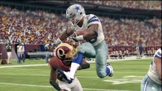 Madden 13 Evans Okotcha CCM: ►PLAYOFF BOUND?◄ - Week 17 @ Washington Redskins (Season 1)