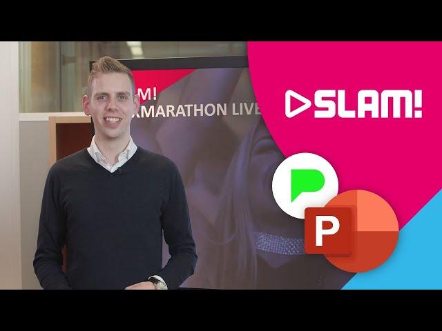GENIAAL! Presentatie voor SLAM! en 100% NL