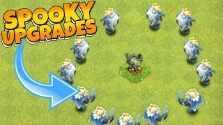 """This IS SCARY to DO!!! """"Clash Of Clans"""" HALLOWEEN TREE BASE"""