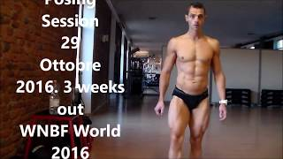 Posing Session  3 Weeks Out WNBF WORLD 2016. LOS ANGELES