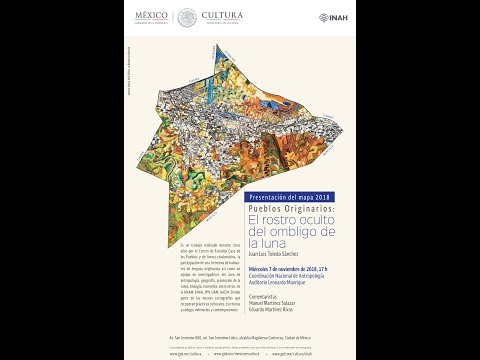 7 de noviembre de 2018. Presentación del Mapa de los Pueblos Originarios