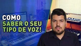 Aula de Canto - #4 Descubra seu tipo de voz -Tessitura Vocal   Técnica Vocal - Voz