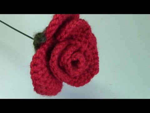 Haken Tutorial 175 Romantische Roos Youtube