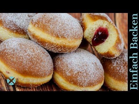 Berliner - Krapfen - Kreppel - Pfannkuchen selber machen