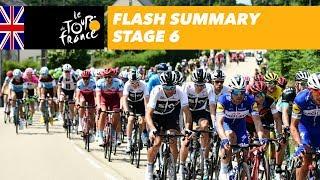 Flash Summary - Stage 6 - Tour de France 2018