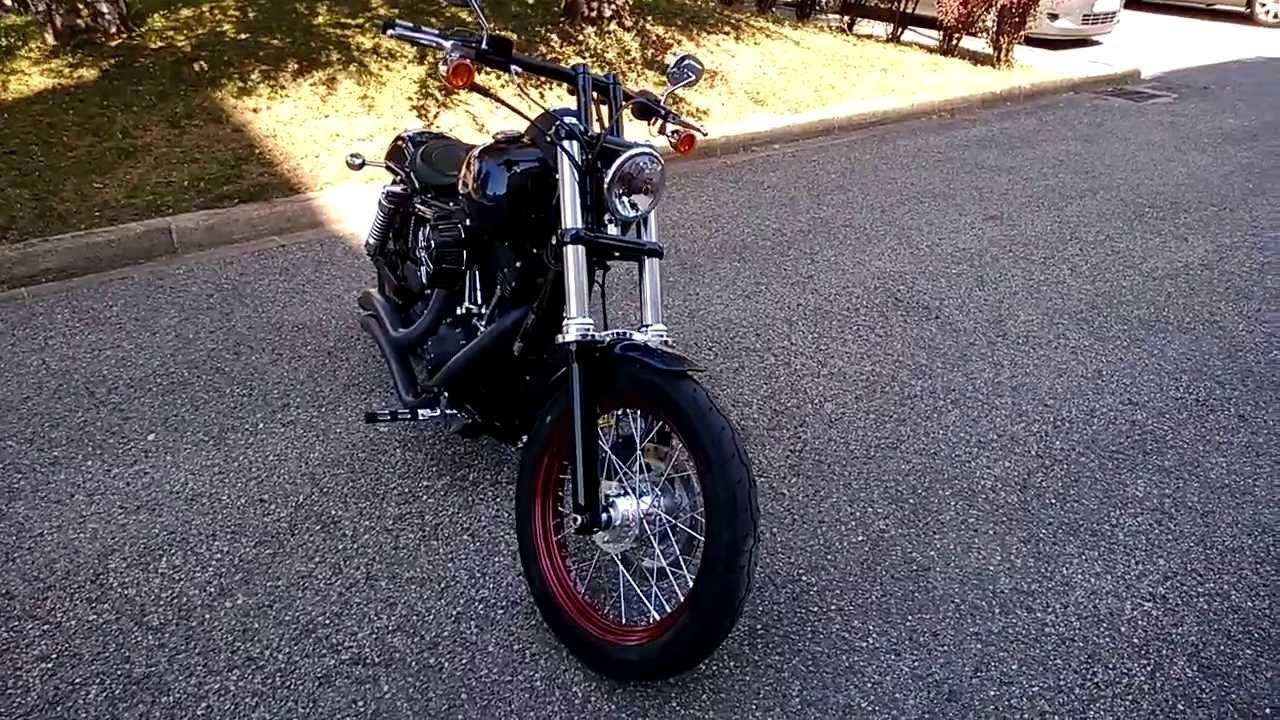 Harley Davidson Street Bob Drag Bars