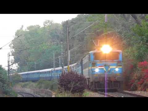 In between 2 Trains  | Electrics meet  | Indian Railways
