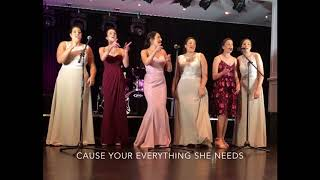 LOVE STORY! 6 Calleja sisters surprise bride, groom and guests with a tribute song