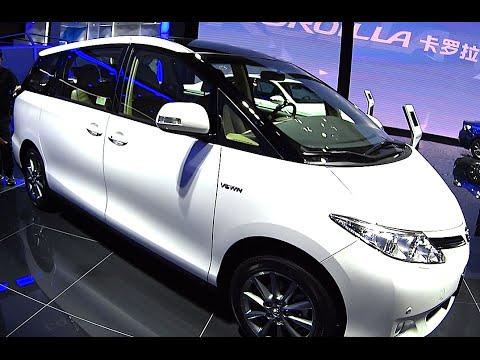 2016, 2017 Big Toyota VAN Toyota Previa Estima, New VAN for family Toyota Previa Estima 2016, 2017
