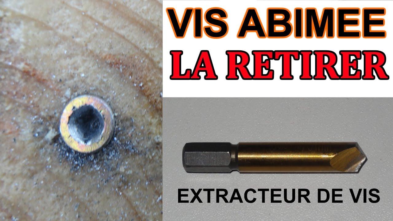 Dévisser Une Vis Sans Tête retirer une vis abimée cassée: extracteur de vis (extraire une vis) powerfix