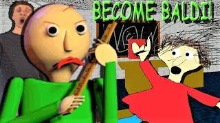 YOU CAN LITERALLY PLAY AS BALDI!! | Baldi's Basics MOD: Become Baldi