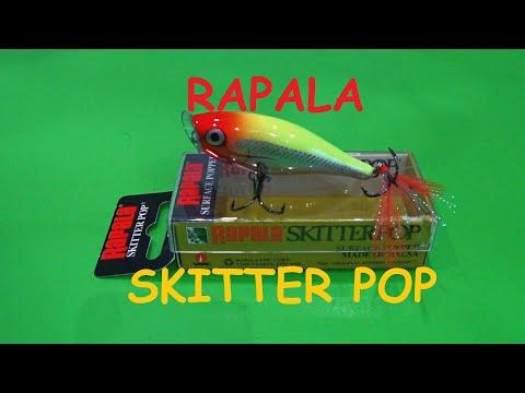 Распаковка посылки от интернет магазина Spiningline Воблер Rapala Skitter Pop 05.