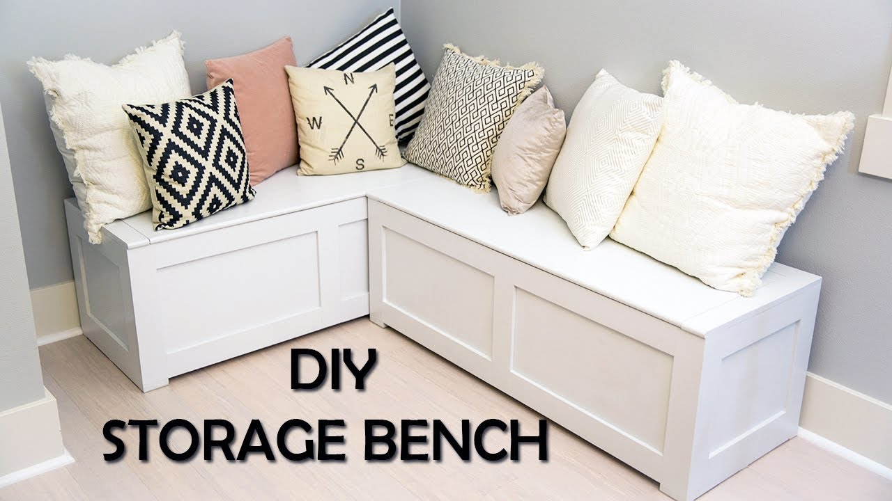 Kitchen Nook Storage Bench Diy You