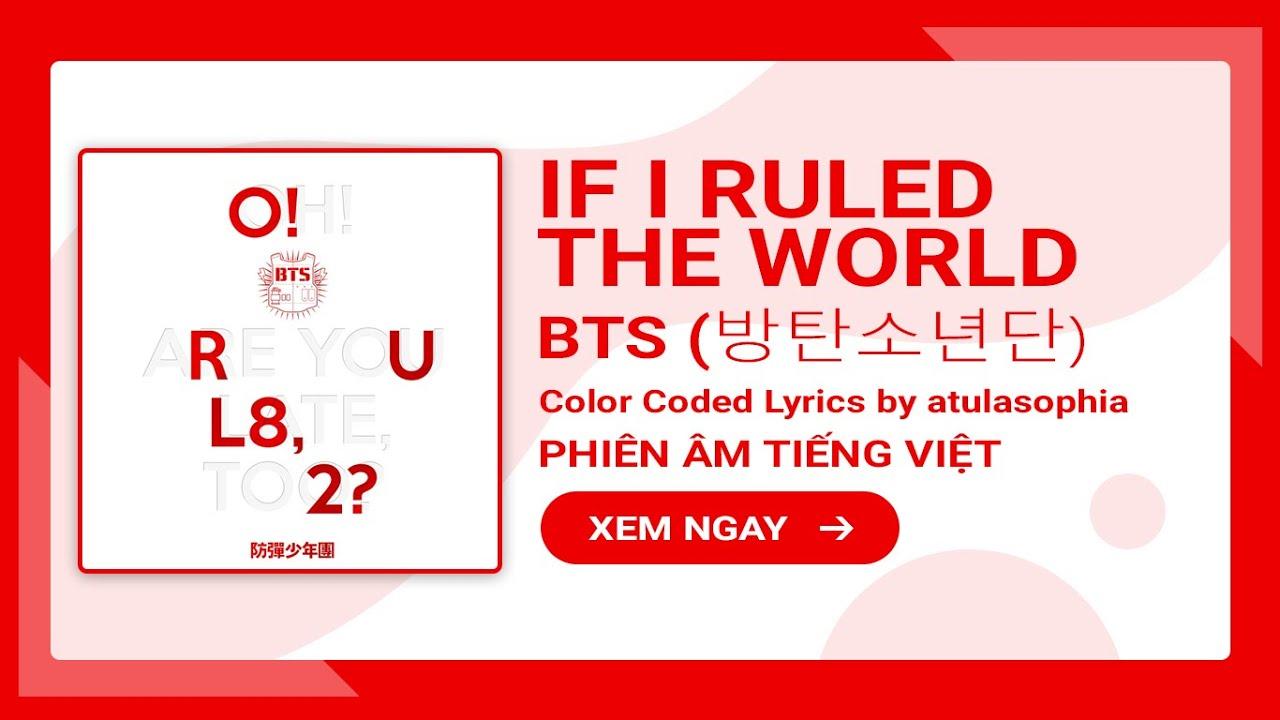 If i ruled th world