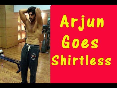 HOT Arjun Kapoor goes shirtless-TOI
