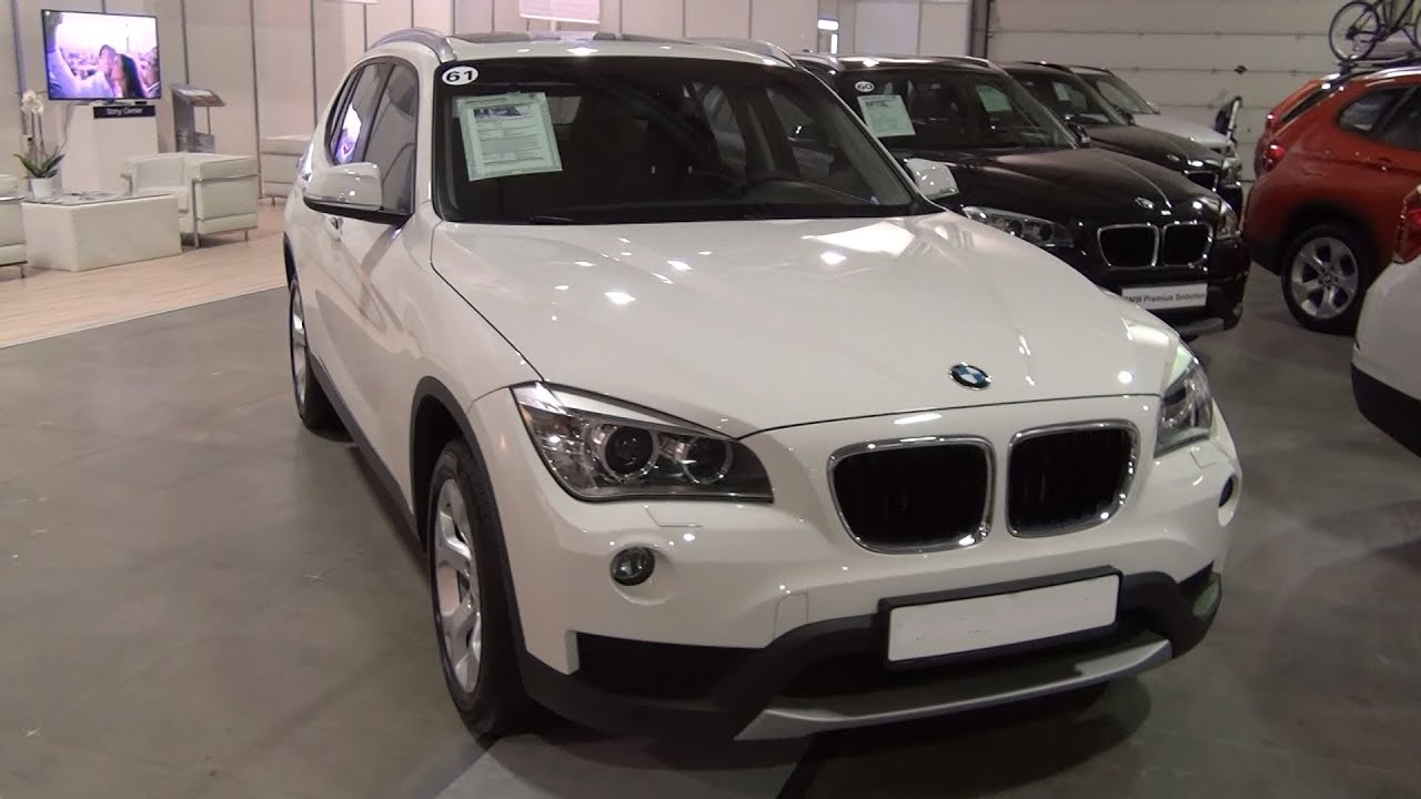 BMW X XDrive D White Exterior And Interior In D K UHD - 2012 bmw x1