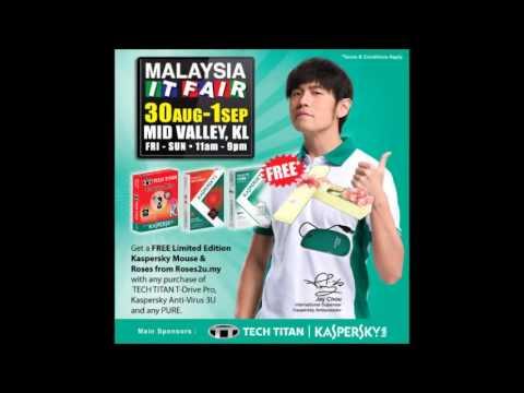 Malaysia IT Fair @ Kuala Lumpur Mid Valley (Radio commercial in Mandarin)