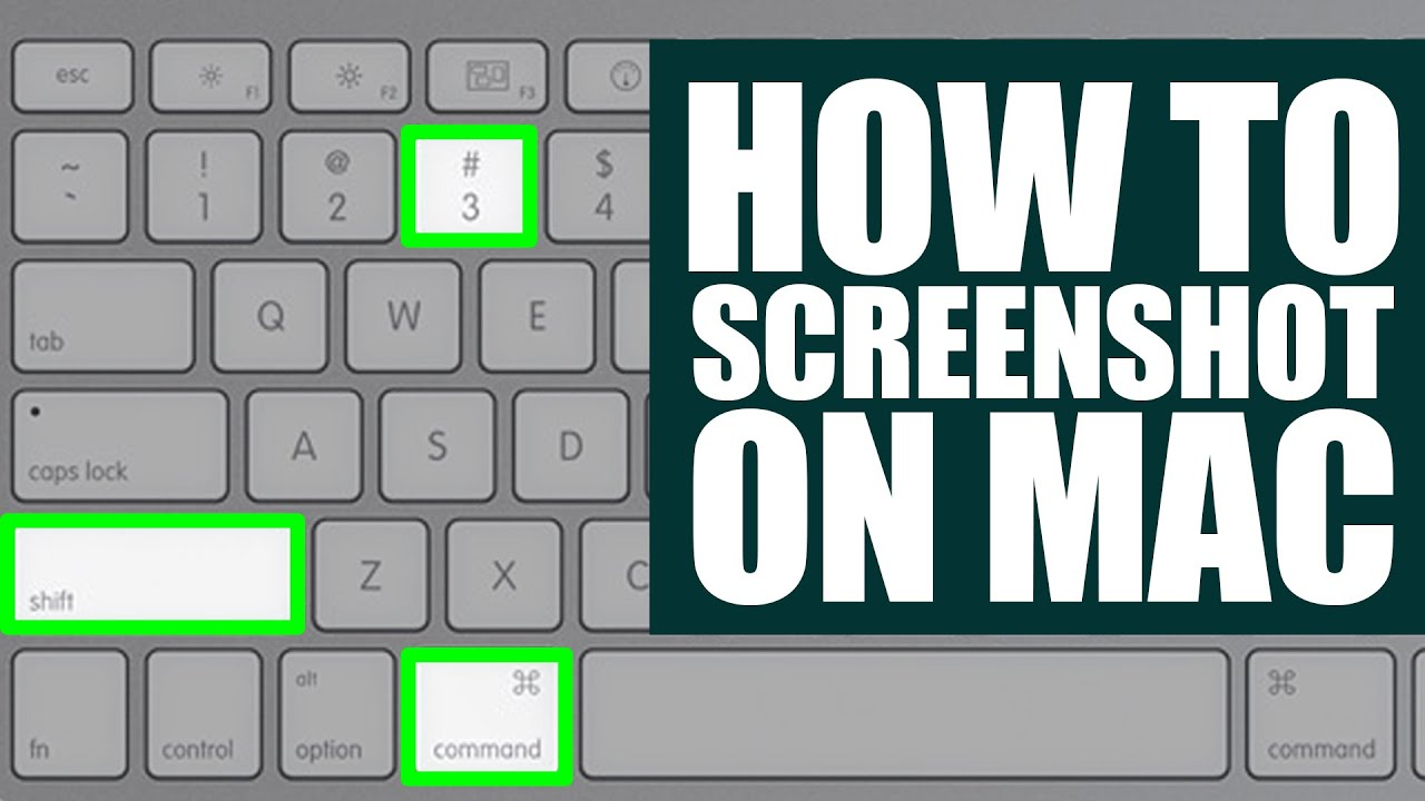 How To Take A Screenshot On Mac?