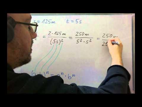 Physik - Erdbeschleunigung