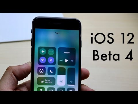 iOS 12 BETA 4 On iPHONE 6! (Review)