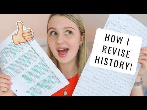 HOW I REVISE: A Level History!