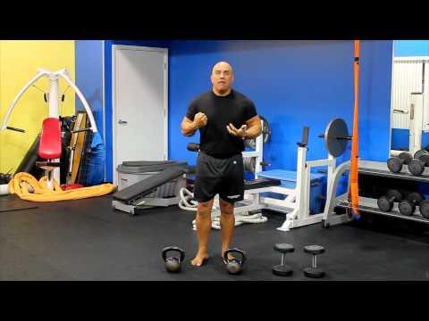 Core Stiffness (Dumbbell & Kettlebell Carries) With JC Santana