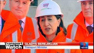 Seven News Sydney - Eastern Suburbs Line delays (24/6/2014)