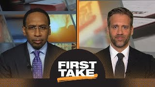 Stephen A. and Max react to Steve Kerr's comments on Rockets' chances | First Take | ESPN