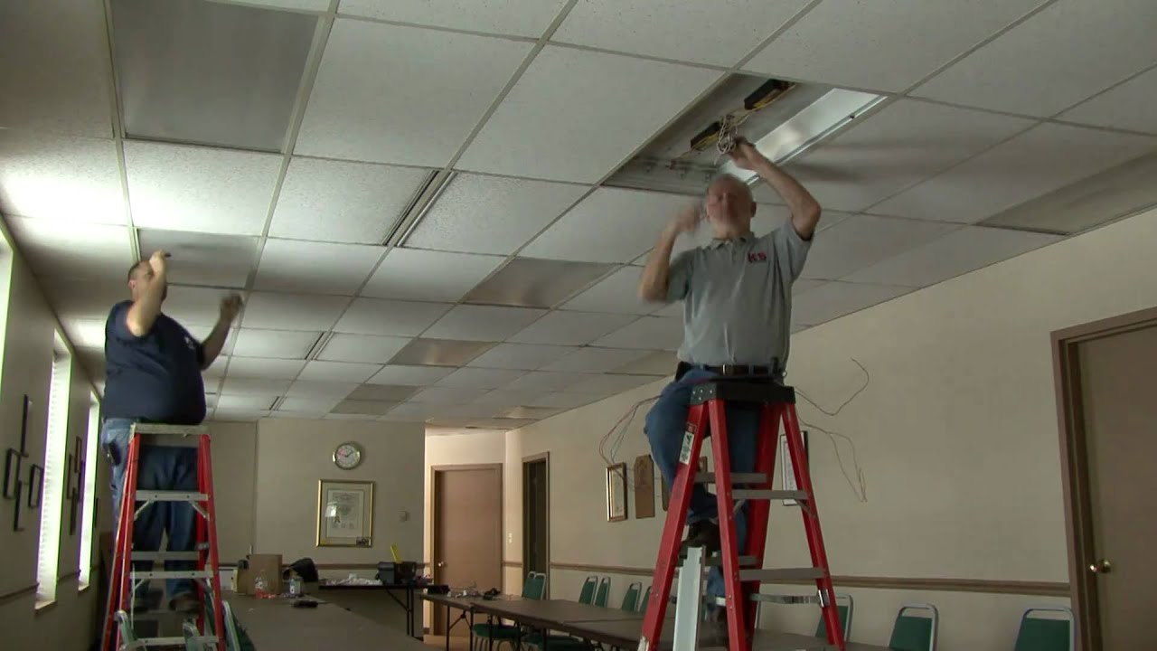 Commercial lighting retrofit in lathrup village mi youtube mozeypictures Gallery