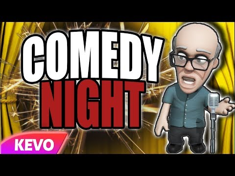 Comedy Night but I can't get off the stage