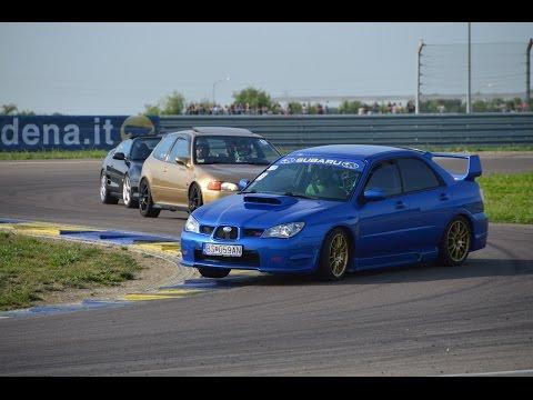 Subaru Impreza Invasion: Powerslides And Track Action - JCM 2k15
