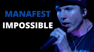 Manafest Impossible Live in Concert
