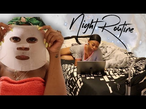 REAL Night Routine  Get Un-Ready With Me 2018