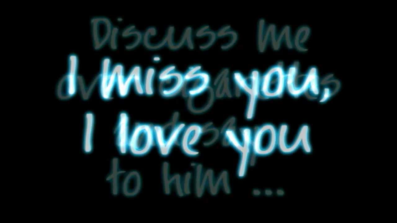 Maroon 5 Miss You Love You Lyrics Hd Youtube