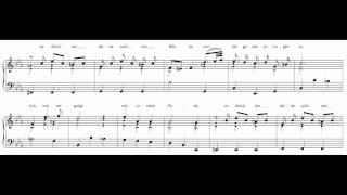 """Bach Aria BWV 508 """"Bist du bei mir"""""""