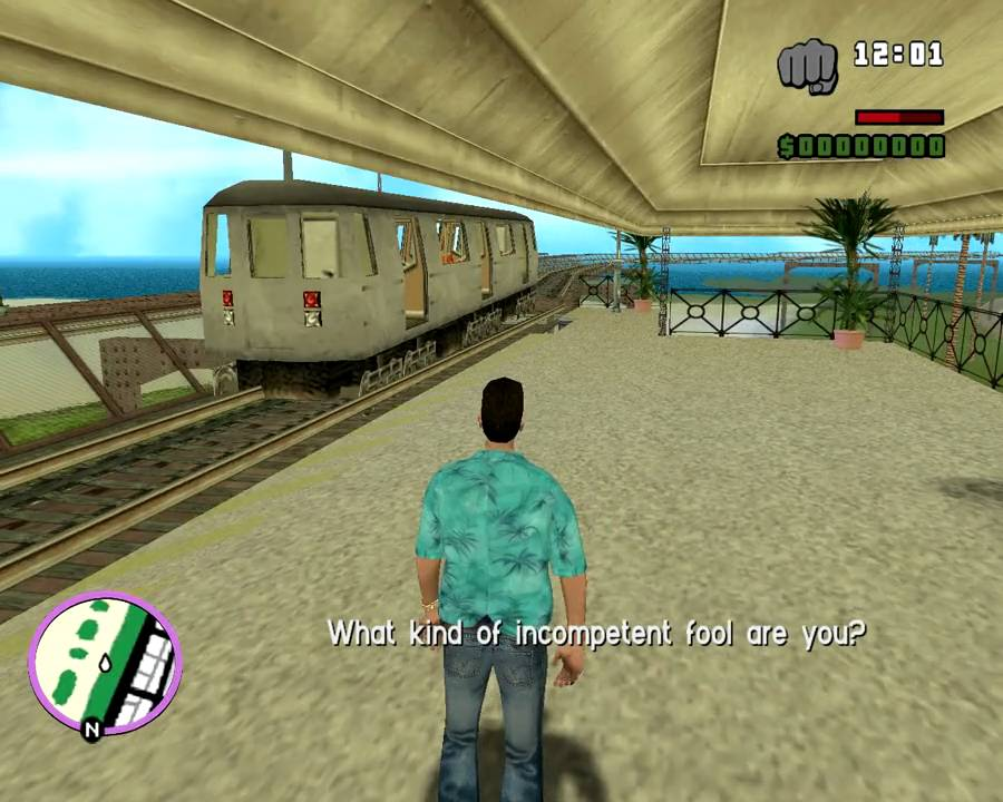 Train In Vice City Youtube