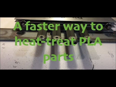 A quicker way to anneal PLA 3D prints