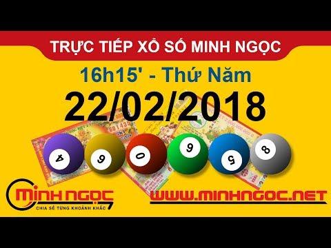 Trực tiếp xổ số MINH NGỌC T5 Ngày 22-02-2018 - Kênh Youtube chính thức từ Minhngoc.net.vn