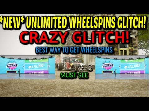 *NEW* BEST UNLIMITED WHEELSPINS GLITCH in Forza Horizon 4! (MUST SEE) thumbnail