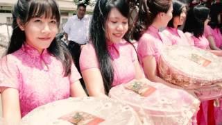 Đám hỏi cô dâu xinh - chú rể Việt Kiều đẹp trai - quay phóng sự cưới ở Biên Hòa