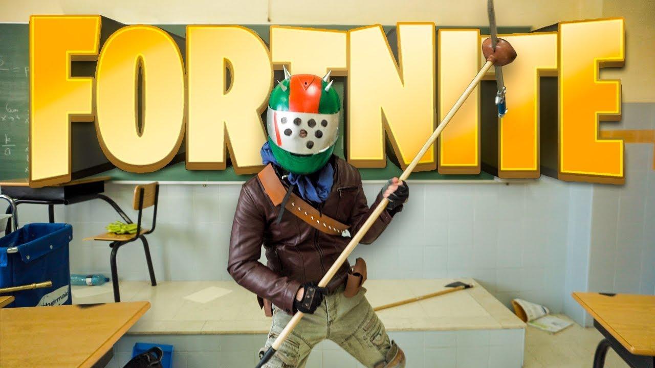 Fortnite 2.41 La Clase De Fortnite Pelicula Oficial Alecmolon Youtube