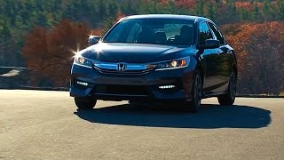 2016 Honda Accord Sedan - TestDriveNow.com Review by Auto Critic Steve Hammes