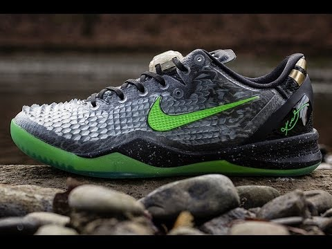 Kobe 8 ss christmas edition 2013 review - YouTube